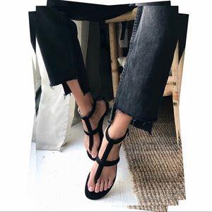 Pons Quintana black sandals.